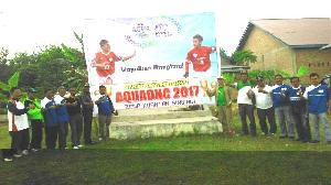 25 Tim Sepakbaola Dari Tiga Kabupaten Berlaga Diajang AQUADNC 2016 di Tanjung Pauh