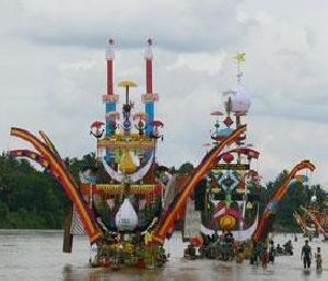 Pembukaan Festival Pacu Jalur Tahun Ini, Pawai Budaya Ditiadakan Diganti Parade Air