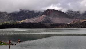 Letusan Rinjani Spektakuler Hingga Alaska