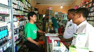 Sidak Toko Obat, Polres Kuansing Cari Obat-obatan Jenis Baru Terindikasi Narkoba