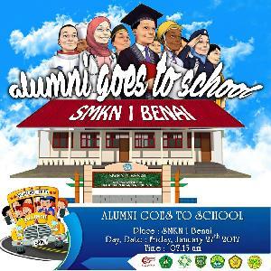 "IKA SMKN 1 Benai Taja ""Alumni Goes To School"""