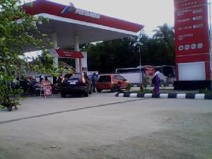 SPBU Minim di Kuansing, Pengendara Sumbar - Riau Via Kuansing Diminta Cermat Mengisi BBM