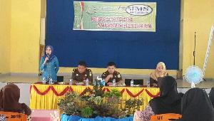 Pelajar SMPN 6 Teluk Kuantan Antusias Ikut JMS