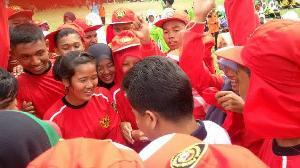 Indra Putra - Komperensi Meriahkan Gerak Jalan Santai HUT RI di Singingi Hilir
