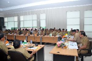 MH Evaluasi Kegiatan APBD 2016 Bersama Seluruh SKPD