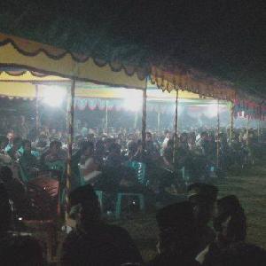 Unjuk Gigi di Desa Marsawa, Ribuan Simpatisan dan Warga Siap Menangkan IKO