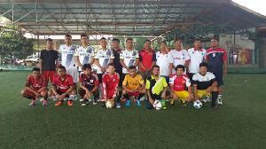 Kalah Fisik, Tim Futsal PWI Dicukur Polres 8-2