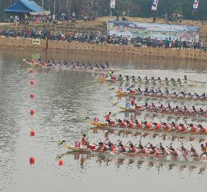 Besok Dayung Taja 3 Final Dragon Boat 250 Meter