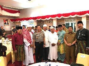 Bupati Mursini Hadiri Launching Inovasi Pelayanan Publik Berbasis TI Polda Riau Oleh Kapolri